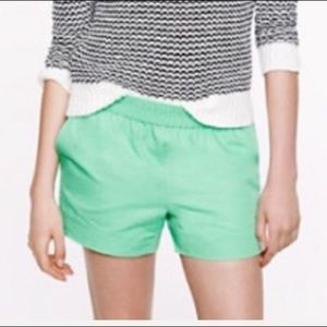 NWOT J Crew cotton faille shorts! Final Price